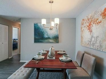 Dining Area | Colony Woods Apartments