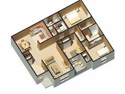 C1 - Three Bedroom