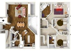3 Bedroom / 2 Bath - C1