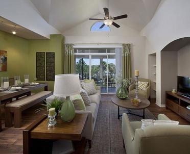 Living Room | Veranda at Westchase