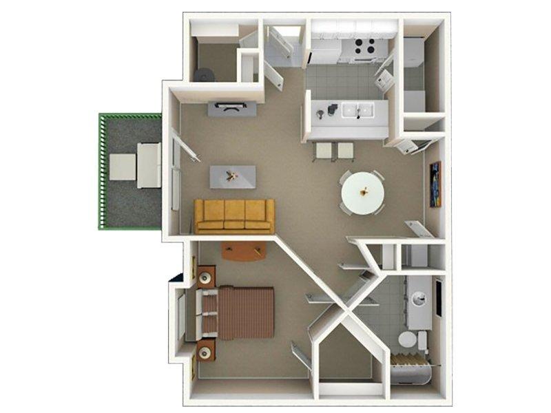 1 - One Bedroom