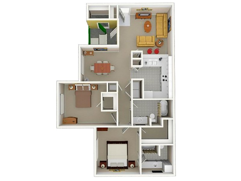 2 - Two Bedroom