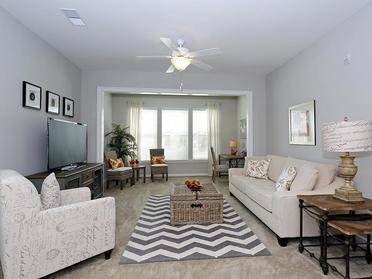 Living Room | Vinings at Carolina Bays