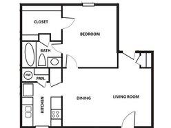 1 Bedroom / 1 Bath - Cottage
