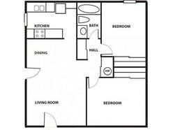 2 Bedrooom / 1 Bath - Cottage