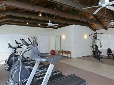 Gym at Midtown Apartments in Montgomery, AL