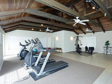 Fitness Center at Midtown Apartments in Montgomery