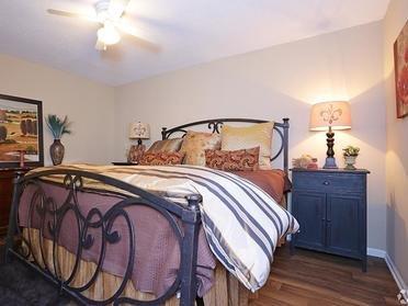 Master Bedroom | Tuscany at Midtown Apartments
