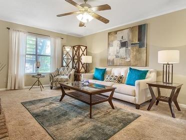Front Room | Van Mark Apartments