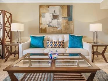 Living Room | Van Mark Apartments