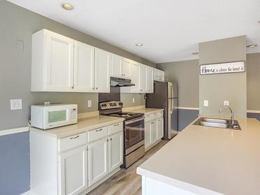 Clubhouse Kitchen  | Van Mark Apartments