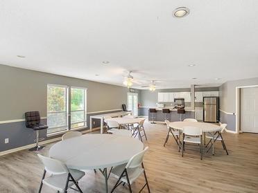 Clubhouse Interior  | Van Mark Apartments
