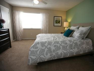 Bedroom | Cornerstone Apartments & Townhomes