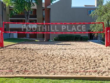 Volley Court | Foothill Place Apartments