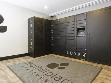 Locker | Foothill Place Apartments