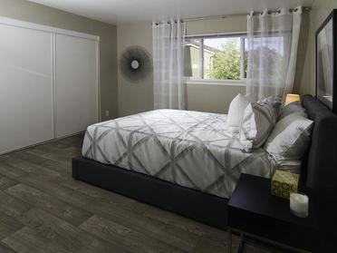Bedroom | Foothill Place Apartments