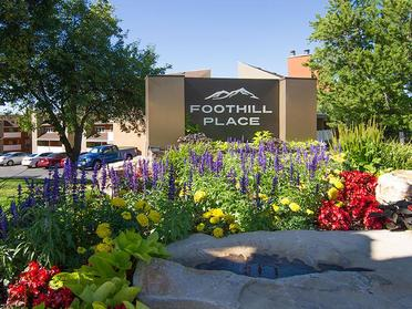 Sign | Foothill Place Apartments