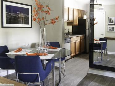 Dining Room | Foothill Place Apartments