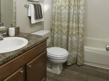Bathroom | Foothill Place Apartments