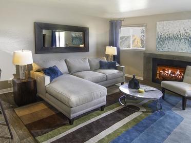 Living Room | Apartments in Salt Lake City, UT