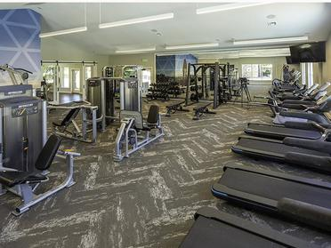 24 hour Fitness Center | Maison's Landing