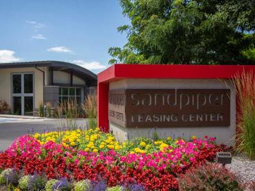 Apartment main entrance | Sandpiper Apartments SLC, UT