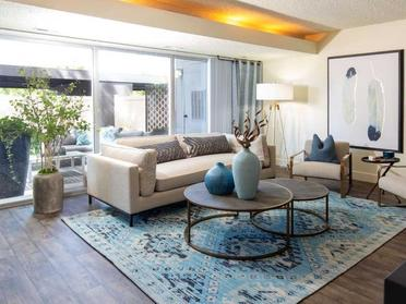 Living room overview | Sandpiper, Salt Lake City, UT
