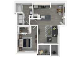 1 Bedroom 1 Bathroom - 695 White Reno