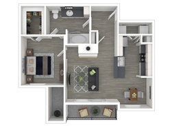 1 Bedroom 1 Bathroom - 759 White Reno