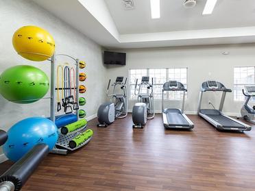 Gym | Alpine Meadows Apartments