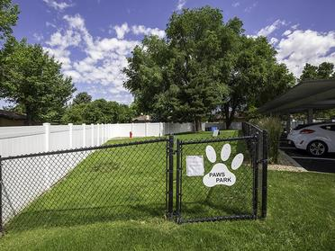 Apartments in Sandy for Rent - Alpine Meadows Gated Dog Park with Grass Area