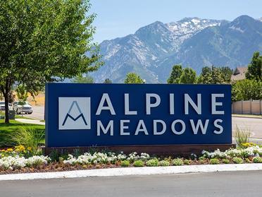 Sign | Alpine Meadows