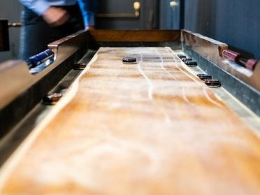 Shuffle Board Table | The Bigelow Apartments