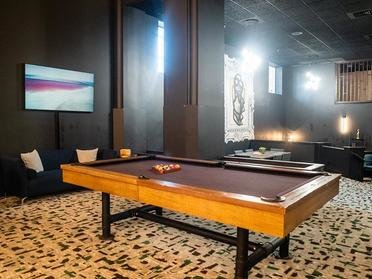 Pool Table | Bigelow Apartments