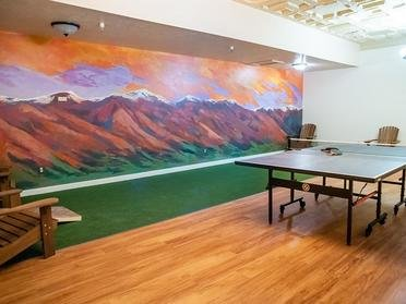 Ping Pong Table | The Bigelow Apartments