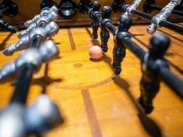 Foosball Table | Bigelow Apartments