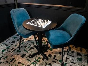 Chess Table | Bigelow Apartments in Ogden, UT