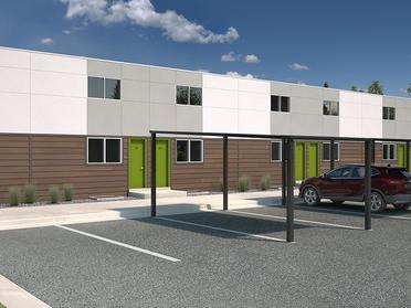 Building Entry | South Parc Apartments