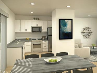Fully Equipped Kitchen | South Parc Apartments