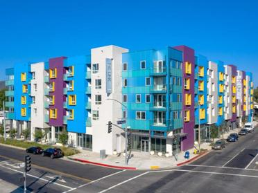 Exterior | The Link Apartments in Glendale, CA