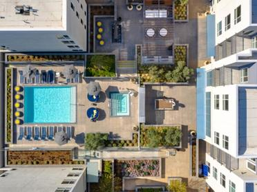 Aerial View | The Link Apartments in Glendale, CA