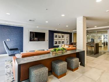Clubhouse Seating | The Link Apartments in Glendale, CA