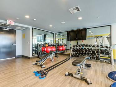 Fitness Center | The Link Apartments in Glendale, CA