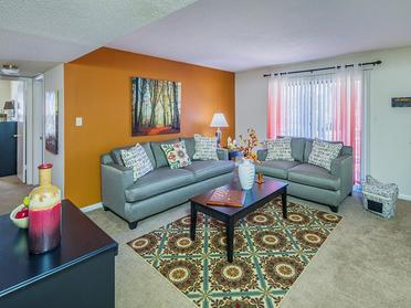 Living Room  | Briarwood Apartments