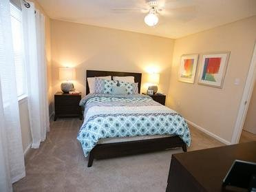 Bedroom | Cornerstone Apartments & Townhomes