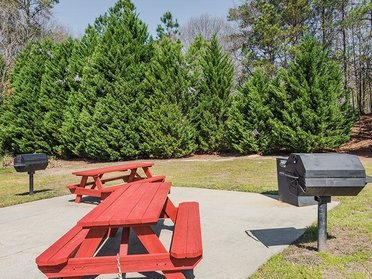 BBQ and Picnic Area | Cross Creek Cove