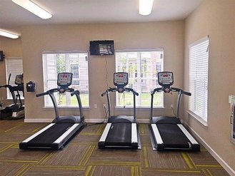 Fitness Center | Evergreen at River Oaks