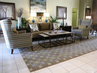Clubhouse Lobby | Evergreen at River Oaks