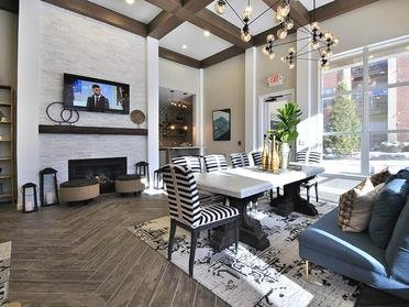 Clubhouse Living Room | Fairlane Town Center
