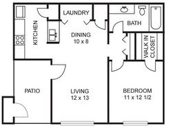 Birch - 1 Bedroom / 1 Bath